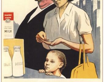 Soviet, Stalin, Wall decor, Soviet propaganda, Russian, Soviet poster, USSR, Russia, Propaganda poster, Lenin, Communism, Propaganda, 144