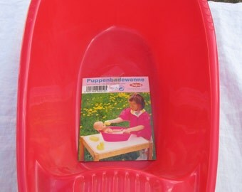 Doll Bath Tub made in Germany by Heless for Play Time or Washing Doll Clothing