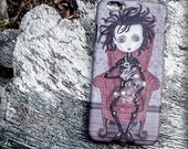 EDUARDO MANOSTIJERAS  (Edward Scissorhands) iphone 7/7S 6/6S 5/5S 4/4S 3D case illustration gift steampunk gothic film cinema tim burton