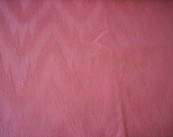 Moire fabric/Pink fabric/Quilt fabric/Sewing supply/Watered silk fabric/Dusty pink moire fabric/2 yards fabric/Retor fabric/Spring fabric