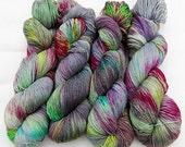 SPARKLE Sock Yarn  GLITTER,71 Wool,24 Nylon,5 Polyester 100g 3.5 oz.  Nr. 170