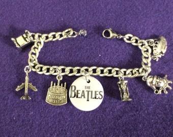The Beatles Memory Charm Bracelet