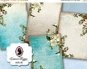 75% OFF SALE SHABBY Roses 01 Digital Collage Sheet Digital Aceo Shabby Chic Digital Download