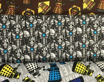 Dalek or Cybermen Doctor Who dress for Girls