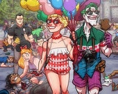 Happiest Place On Earth: Harley Quinn and Joker
