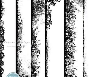 ON SALE Digital Overlays Pack, Digital Scrapbooking, Overlays ( 12x12 Inch ) 300 dpi vol.3 - INSTANT Download