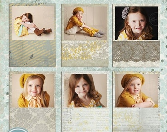 ON SALE Digital Frames, psd templates for photographers - INSTANT Download