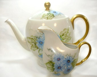 Teapot & Creamer Made in Japan