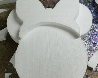 Minnie Mouse - Wall minnie- two colors- minnie bow- minnie party decor