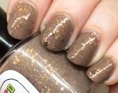 Toast Nail Polish - brown and gold neutral