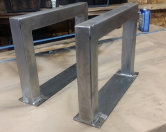 "2"" x 2""  Super Modern U-Shaped legs"