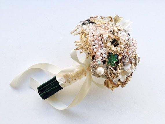 SALE!!   Custom Jewelry Brooch Bouquet
