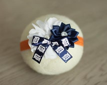 Detroit Tigers Headband, Detroit Tigers Baby Headband, Tigers Newborn Headband to Girls to Ladies Headband