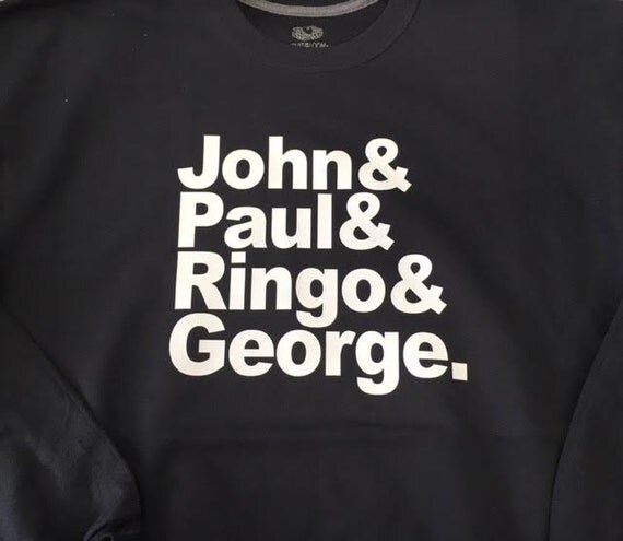 John & Paul and Ringo and George Beatles Shirt