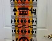 Vintage Woven Tribal Wall Hanging Hippie Boho Decor
