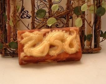 Dragons Blood Glycerin & Goats milk Soap
