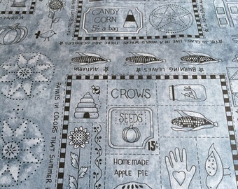 A Vintage Autumn, by Blank Quilting in Slate Blue 8099