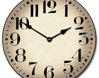Houston Parchment Wall Clock