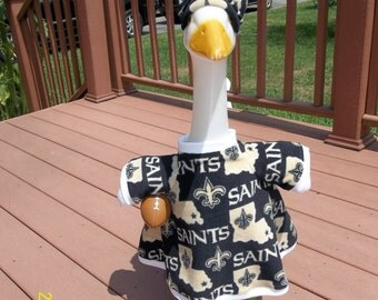 New Orleans Saints Goose Outfit w. Ball