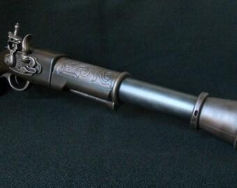 Steampunk Pirate Gun Pistol Flintlock Blunderbuss LARP Cosplay Gun