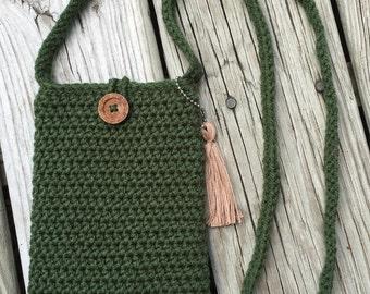 Petite Crochet Purse/Cross Body Bag