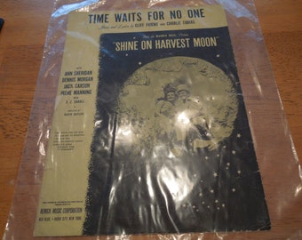 Vintage Sheet Music.  Lot of 5 From 1940s.  Will Separate.