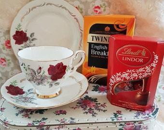 Royal Stafford Bone china Tea for One gift set