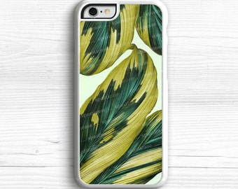 iPhone 6S Case, Palm Leaves iPhone Case, Leaves iPhone 6 Case, iPhone 5C Case, Palms iPhone 5S Case, Vintage Illustration iPhone 6 Plus
