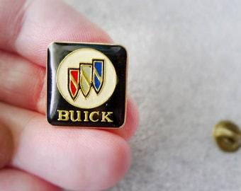 Buick Pin, Buick Logo Pin Vintage Jewelry, Car Salesman or Dealership Tie Tack Tac Pin, Retro Buick Lover Gift