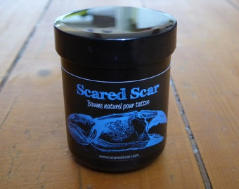 baume naturel pour tattoo Scared Scar - 20 grammes  /  natural tattoo balm Scared Scar - 0.70 oz