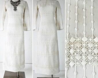 Vintage Clothing UNIQUE WEDDING DRESS Boho Wedding Dress Boho Wedding Dresses Wedding Dress Boho Wedding Dresses Lace Wedding Dress 60s 70s
