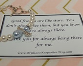 Friendship Angel Gift Bracelet Sterling Silver