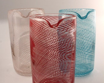 Red Mixing Glass