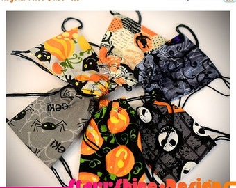 Sale 25% Off BJD Doll Accessories - Halloween Print Drawstring Backpack - 6 Choices - 2 Sizes