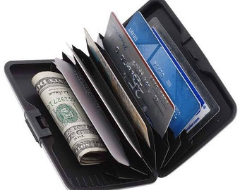 Personalized Aluma Wallet Credit Car Holder