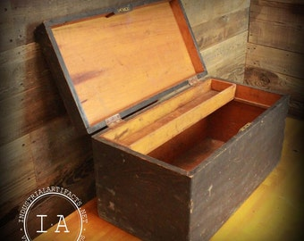 Vintage Pine Tool Chest