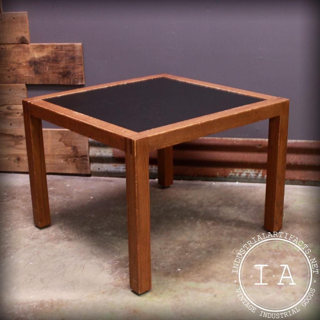 Vintage Oak Coffee Table End Tables