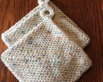 Crochet potholders choose color
