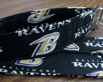 SALE - NFL Baltimore Ravens Fabric Wristlets - Shipping Included