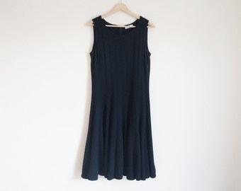 Vintage Calvin Klein Dress / Vintage Black Dress