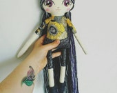 Custom made half moon Luna doll for Renee