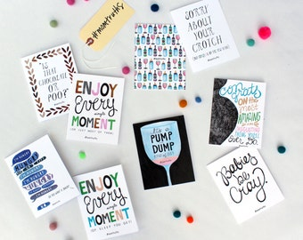 Box Set of 10 #Momtruths Cards