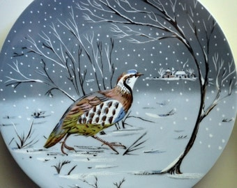 12 Days of Christmas Collectible Plates Haviland Limoges Days 1 - 4