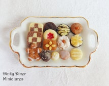 German Lebkuchen Christmas Biscuits - Miniature 1:12 Scale Food
