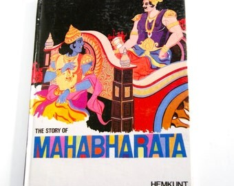 Vintage Children's Book, The Story of Mahabharata
