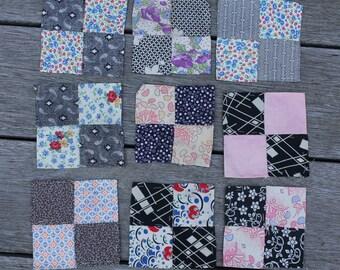 Antique 4-Patch Quilt Blocks