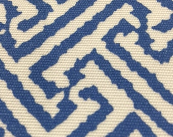 China Seas Java Java Suncloth in Pacific Blue color.