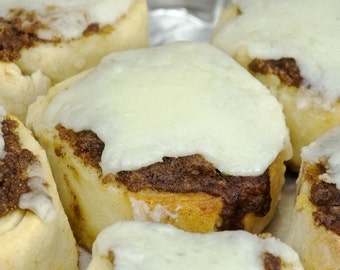 Cinnamon Buns with Mascarpone Frosting (Gluten-Free)