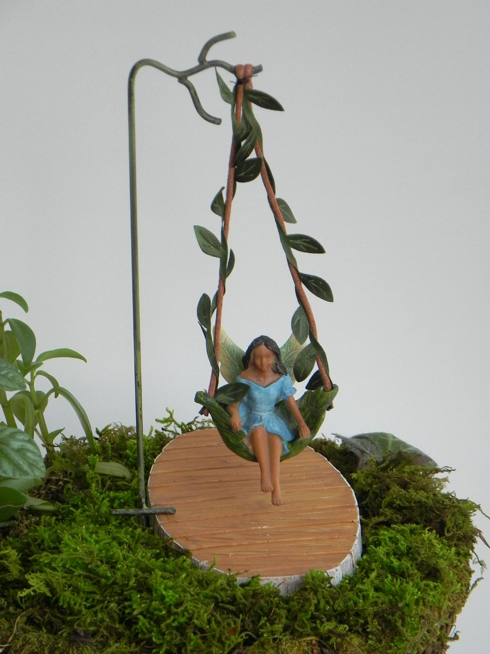 Fairy Swing African American Fairy Accessories Miniature Swing