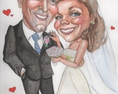 2 people caricature without background for Cyndi